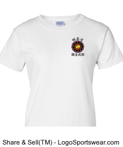 "R-TMA ""Amor-Honor-Sudor"" Ladies T-Shirt Design Zoom"